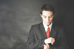 Portrait of active young man Royalty Free Stock Photo
