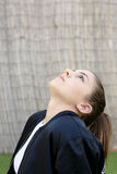 Portrait of adolescent with natural light. Royalty Free Stock Photo