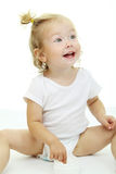 Portrait of adorable baby Royalty Free Stock Images