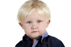 Portrait of adorable baby Royalty Free Stock Photography