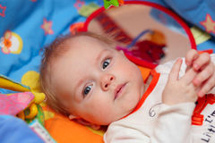 portrait of adorable baby Royalty Free Stock Image