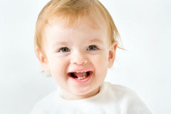 Portrait of adorable baby Stock Image