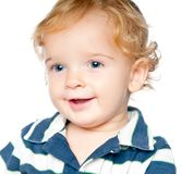 Portrait of an adorable baby Stock Photo