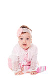 Portrait adorable baby girl Royalty Free Stock Image