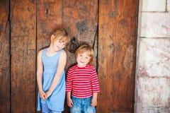 Portrait of adorable children Stock Image