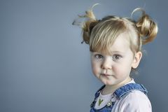 Portrait of adorable  child Royalty Free Stock Images