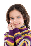 Portrait of adorable girl Stock Photography