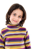 Portrait of adorable girl Stock Image
