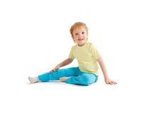 Portrait of adorable joyful boy Royalty Free Stock Photo