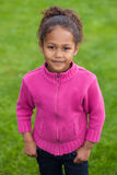 Portrait of a Adorable little African Asian girl Royalty Free Stock Image
