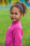 Portrait of a Adorable little African Asian girl Royalty Free Stock Photography