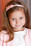 Portrait adorable little girl Royalty Free Stock Image
