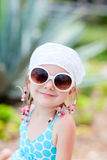 Portrait of adorable little girl Stock Photography