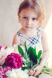 Portrait of adorable little girl Royalty Free Stock Images