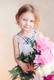 Portrait of adorable little girl Royalty Free Stock Image