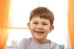 Portrait of adorable small boy Stock Photos