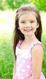 Portrait of adorable smiling little girl Stock Image