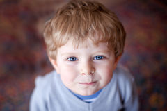 Portrait of adorable toddler boy smiling Royalty Free Stock Photography