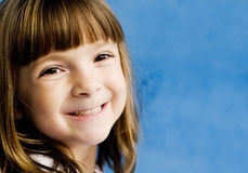 Portrait of an adorable young child royalty free stock image