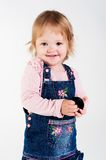 Portrait of adorable young girl Royalty Free Stock Images