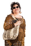 Portrait of adult woman Royalty Free Stock Image
