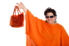 Portrait of adult woman Royalty Free Stock Photos