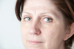 Portrait of an adult woman. Royalty Free Stock Photos