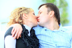 Portrait of an affectionate man Royalty Free Stock Photo