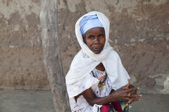 Portrait of an afican women Stock Image