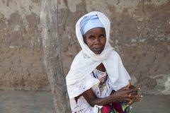 Portrait of an afican women Stock Image