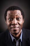 Portrait africain de studio d'homme de couleur image libre de droits