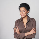 Portrait of african american business woman Stock Photos