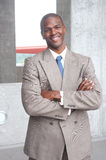 Portrait of an African American businessman Royalty Free Stock Photo