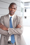 Portrait of an African American businessman Royalty Free Stock Images