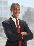 Portrait of African American Businessman Royalty Free Stock Photo