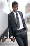 Portrait of an african american businessman smiling Royalty Free Stock Photos