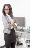 Portrait of an african american businesswoman Royalty Free Stock Images