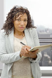 Portrait of african american businesswoman Royalty Free Stock Photo