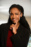 Portrait of African American Businesswoman Royalty Free Stock Photos