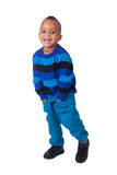 Portrait african american little boy Royalty Free Stock Images