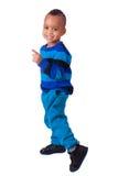 Portrait african american little boy Stock Photos