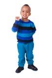 Portrait african american little boy Stock Photography