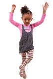 Portrait of an african american little girl  - Black people Royalty Free Stock Photos