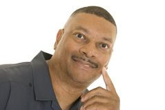 Portrait of African American male Stock Image