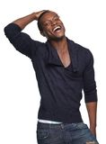 African American Man Laughing Stock Photography