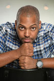 Portrait of African American Man Stock Photography
