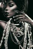 Rare and precious black pearl