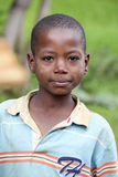 Portrait of the African boy. Stock Photos