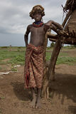 Portrait of the African boy. Royalty Free Stock Photos