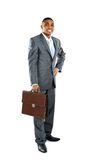 Portrait of a african business man Stock Photos